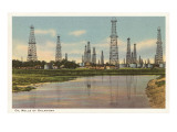 Oil Wells of Oklahoma Prints