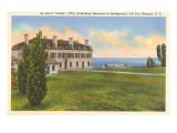De Lery's Castle, Ft. Niagara, New York Print