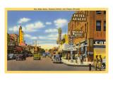 Fremont Street, Las Vegas, Nevada Poster