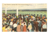 Ticket Windows, Saratoga Racetrack, New York Prints