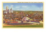 View over Cincinnati, Ohio Art