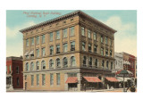 First National Bank, Corning, New York Print