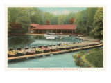 Boat House, Prospect Park, New York City Prints