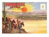 Phoenix, Arizona (Postkartenmotiv) Kunstdruck