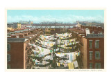 Washing Hanging in New York Tenement Prints