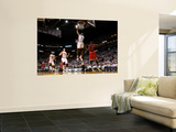 Chicago Bulls v Miami Heat - Game FourMiami, FL - MAY 24: LeBron James, Luol Deng Wall Mural by Mike Ehrmann
