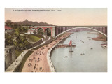 Speedway, Washington Bridge, New York City Prints