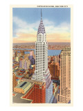 The Chrysler Building, New York City Poster