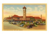 Union Station, Portland, Oregon Prints