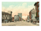 Utica's Busy Corner, Utica, New York Prints