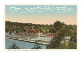 Yacht Club, Lakewood, Ohio Prints
