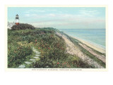 Path to Sankaty, Siasconset, Nantucket, Massachusetts Posters