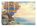 Postcard Folder, Acadia National Park, Maine 高品質プリント