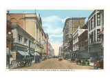 South Clinton Street, Rochester, New York Poster