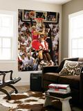 Chicago Bulls v Miami Heat - Game ThreeMiami, FL - MAY 22: Carlos Boozer and LeBron James Wall Mural by Marc Serota