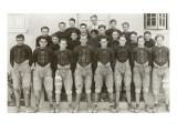 Vintage Football Team Posters