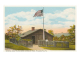 Grant's Log Cabin, Fairmount Park, Philadelphia, Pennsylvania Prints