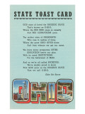 Ohio State Toast Card Prints
