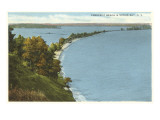 Crescent Beach, Sodus Bay, New York Kunstdrucke