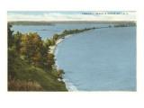 Crescent Beach, Sodus Bay, New York Art