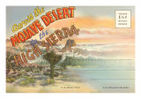Postcard Folder of Mojave Desert Posters