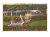 Grounds at Yaddo, Saratoga Springs, New York Posters