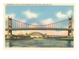 Triborough and Hell Gate Bridges, New York City Prints