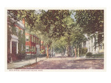 Main Street, Nantucket, Massachusetts Kunst