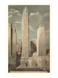Rockefeller Center, New York City Posters