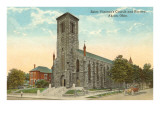 St. Vincent's Church, Akron, Ohio Poster