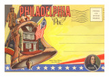 Postcard Folder, Philadelphia, Pennsylvania Posters