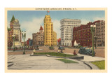 Clinton Square, Syracuse, New York Poster