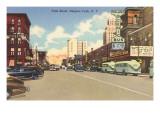 Falls Street, Niagara Falls, New York Posters