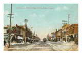 Commercial Street, Salem, Oregon Print