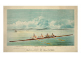 Poster of Rowing Crew Art