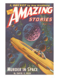 Amazing Stories Magazine Cover Posters