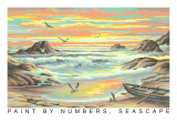 Paint by Numbers, Seascape Poster