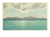 Catskills from the Hudson River, New York Print
