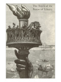 The Torch of the Statue of Liberty Print