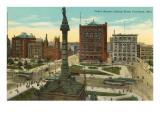 Public Square, Cleveland, Ohio Prints