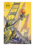 The Big Apple, Statue of Liberty Posters