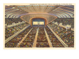Interior, Auditorium, Cleveland, Ohio Prints