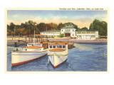 Pavilion and Pier, Lakeside, Ohio Art