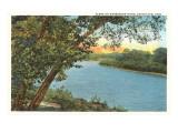 Muskingum River, Coschocton, Ohio Posters