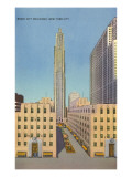 Radio City Buildings, New York City Posters