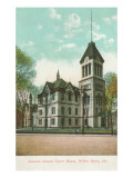 Courthouse, Wilkes-Barr, Pennsylvania Poster