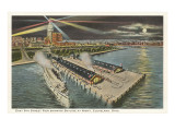 East 9th Street Pier, Cleveland, Ohio Prints