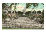 Rockefeller Home, Tarrytown, New York Print