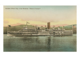 Robert Fulton Steamer on the Hudson River Posters
