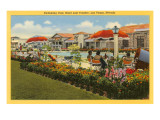 Pool, Hotel Last Frontier, Las Vegas, Nevada Print